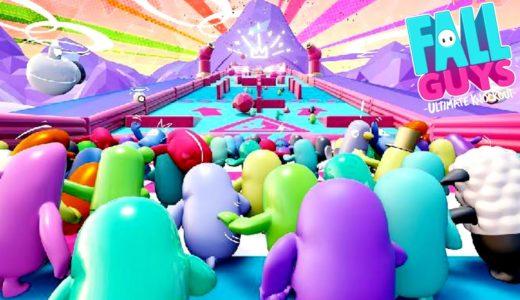 1週間で200万本売れた話題の60人パーティーゲーム『 FALL GUYS 』