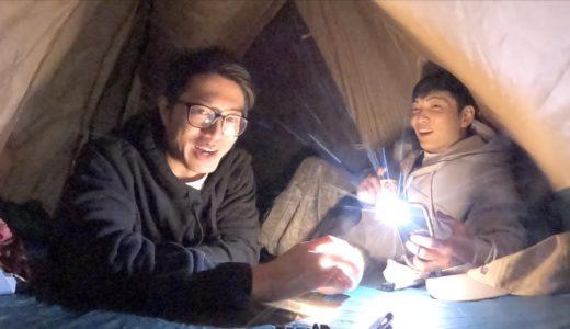 9月キャンプ!酔っ払いテントトーク【サイヤマン】